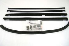 1932 Ford 5 Window Coupe Tudor Fordor Sedan Front Window Channel Kit Both Doors