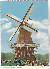 "*Michigan Postcard-""The De Zwaan (Swan) Windmill"" @ Holland, MI.-  (#131)"