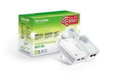 Modem PLC con WIFI TP-LINK TL-WPA4226 KIT Enchufe Powerline 500 mbps AV500 Red