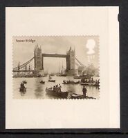 GB 2002 sg2314 Bridges Of London - Tower Bridge s/a booklet only stamp MNH
