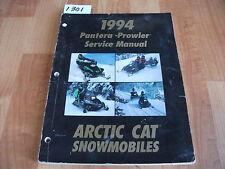 1994 Arctic Cat Snowmobile Pantera / Prowler Service Manual