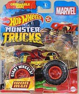 hot wheels Marvel Iron Man Monster Truck (new Release)