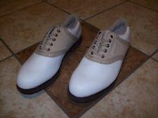 Foot Joy Ladies GreenJoys Golf Shoes 9.5 Medium Saddle 48746 New without Box
