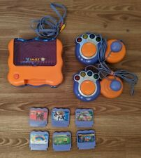 Vtech Vsmile TV Learning System, with 2 Controllers & 6 Games