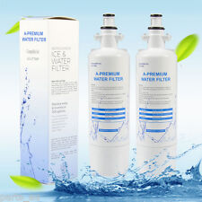 A-Premium 2 Replacement Fridge Water Filters for Lg Lt700P Adq36006102S 2-Pc Set