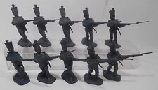 "BMC 10 Mexican Soldiers Alamo Shako Hat China Pose #4 (2-3/8"")"