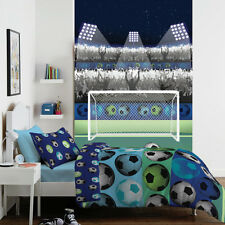 1Wall Cathrine Lansfield Children's Football Stadium Feature Wallpaper Mural