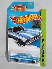 Hot Wheels 2015 FACTORY SET 1/450 Kmart Color '69 Chevelle SS 396 Blue
