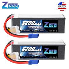 ZEEE 22.2v 5200mah 100c 6s Ec5 Lipo Battery for Heli Airplane Quad Car Truck FPV