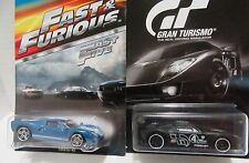 2 Ford GT-40 Hot wheels Fast & Furious Play Station Gran Turismo Muscle Cars