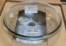 Kohler Whist Glass Undercounter Bathroom Sink Ice #2741-B11 NIB
