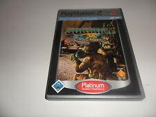 PlayStation 2  PS 2  SOCOM II: U.S. Navy SEALs [Platinum]