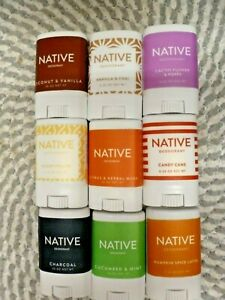 NATIVE~U PICK YOUR ASSORTMENT~14 DIFFERENT SCENTS~TRAVEL SIZED 0.35 OZ EACH
