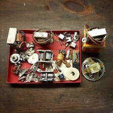 Antique Radio Parts Lot Misc