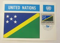 Maximum Card Flags of The Nations Solomon Islands 1982 (75219)