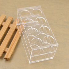 Clear 8 Sockets Test Tube Holder Test Tube Rack Plastic Laboratory Supplyacrylic
