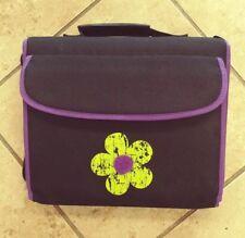 American Studio School Binder Large Leenie Purple W/Flower Style # 79684