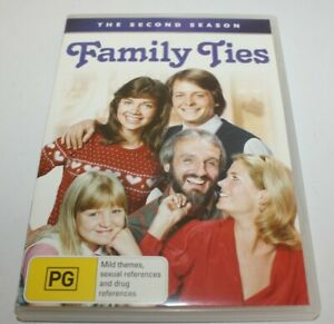 Family Ties Season 2 DVD 2008 4-Disc Set
