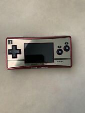 Nintendo Game Boy micro Special 20th Anniversary Edition Red & Gold RARE