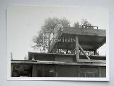 TRIESTE TRAM tramway vettura manutenzione vecchia foto 25