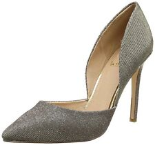 La Strada Gold CHAMPAGNE GLITTER Heels size 7 Party Shoes