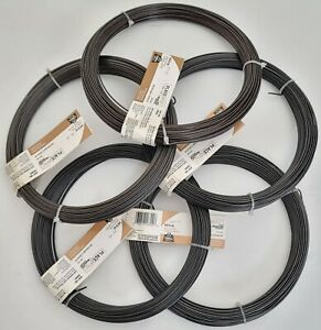 (LOT OF 5) National Hardware N267-005 Craft And Project 16 Gauge x 200' Wire