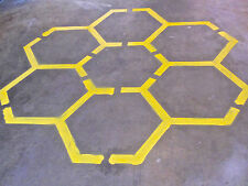 Speed Ladder and Agility Stencils for your Facilities! - Hex Grid Agility