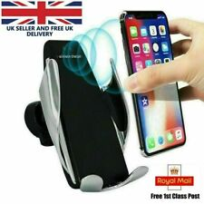 Wireless Car Charger Automatic Clamping Fast Charge Mount Air Vent Phone Holder