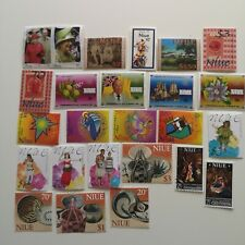 25 Different Niue Stamp Collection