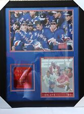 WAYNE GRETZKY SIGNED Autographed framed picture Salute the 90's The Great one LG