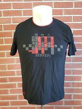 Puma Ferrari Short Sleeve Crewneck T-Shirt Mens Large Black Red EUC Numero Uno