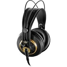 NEW AKG K240 STUDIO MONITOR HEADBAND OVER EAR PROFESSIONAL SEMI-OPEN HEADPHONES