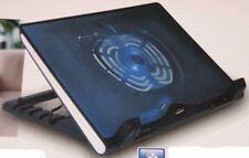 "SUPPORTO VENTOLA LED NOTEBOOK COMPUTER PC PORTATILE LAPTOP RAFFREDDA 17 15 "" USB"