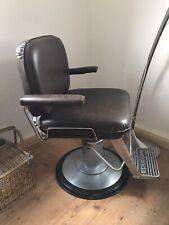 60er welonda Leder Friseurstuhl Barber Herren Vintage 70er Chair rockabilly