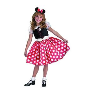 Disneys Minnie Mouse Child Halloween Costume Youth Dress Up Size Small Mickey