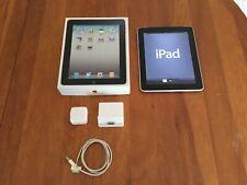 1st Gen Apple iPad 64GB Wi-Fi 3G w/ BOX, iPad Dock RARE!