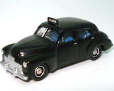 Road Ragers - Australian 1948 Holden FX Sedan - Police Car Black - H0 Scale 1 87