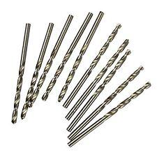 Métriques HSS 2mm Lot de 10 forets à métaux pour le bois d'acier par Bergen