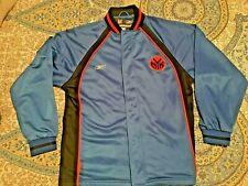 VTG Reebok New York NY Knicks NYK Warm Up Shooting Jacket Zip Mens Size M Medium