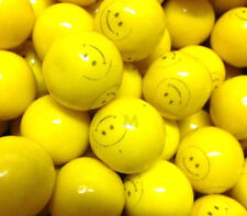 "Smile Face 5 Lb Dubble Bubble 1"" Gumballs Bulk Vending Machine Candy Gum Ball"