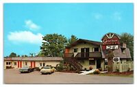 1960s/70s Greathouse Motel, Sequim, WA Postcard