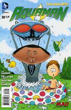 Aquaman #30 Variant Mad Magazine New 52 1:25 Dc Comic 1st Print Near Mint to Nm+