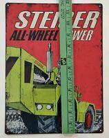 "1966 STEIGER 1250, 1700, 2200 TR Garage Shop Man Cave Metal Sign 9x12"" A042"