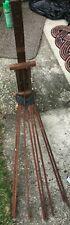 Antique Victorian Perfection Clothes Drier 8 Arm Clothing Rack orignal Condition