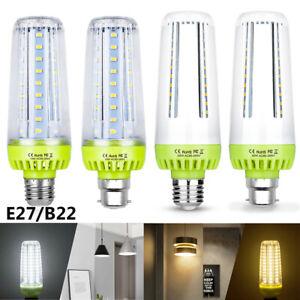 E27/B22 LED Maïs Ampoule Éclairage Lampe Lumière Blanc Chaud Blanc Froid 20W