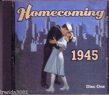 Homecoming 1945 Disc 1 Classic 40s HARRY JAMES GLENN MILLER ARTIE SHAW INK SPOTS