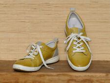 * JOSEF SEIBEL * leichte Halbschuhe Sneaker Caren 06 gelb Leder Lochmuster Gr.40
