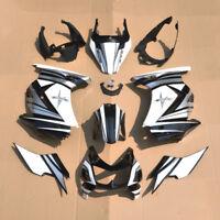 SU UV peinture carrosserie carénage Injection pour Kawasaki Ninja 250R 2008-2012