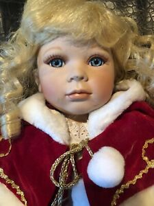 Kingstate Porcelain Doll 21 Inches.  93/1500