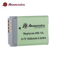 1600mAh NB-13L NB13L Li-ion Battery for Canon PowerShot G5X G7X G9X SX620 SX720
